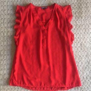 EXPRESS Sleeveless blouse, size XS
